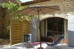 Terrasse chambrre de Toussaint