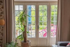 Le salon - La Vieille Maison de Pensol