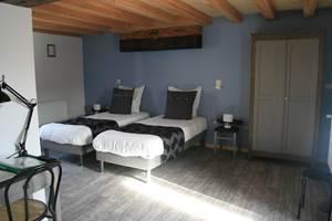 Chambre Alsace version deux lits simples
