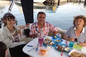 Fruits de mer à bord