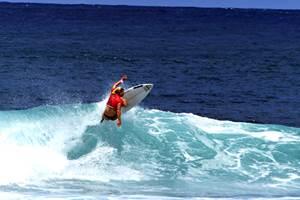 Le spot de surf