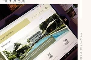 Les Lodges du Château Guide accueil numérique