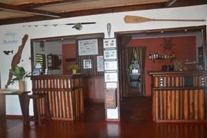 La réception Boraha Village Ile Ste Marie