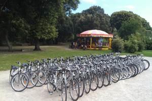 Manège et file ... de vélos