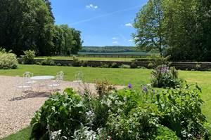 Jardin château d'Auteuil mai 2020