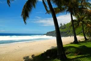Plage de Grand Anse à 5 mn de la résidence Oasis de Terre Rouge