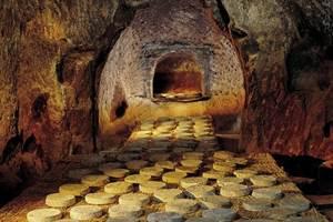 Cave à St Nectaire affinage sur paille