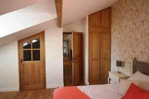 L'épervier, une des 8 chambres douillettes de l'Orangerie St Martin
