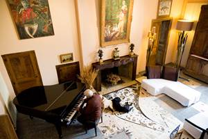 Photo chateau de projan piano