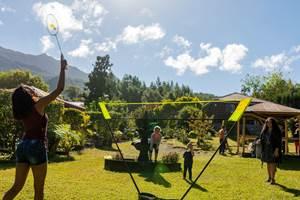 jardin les bungalows des makes