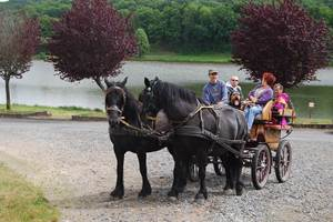 La chevauchéee en Creuse balades et randonnees camping