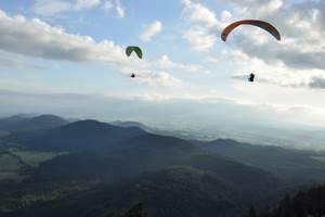 parapente Chaine des Puys UNESCO