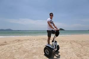 Gyropode tout terrain sur la plage