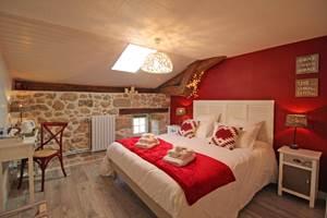 Chambre Clédier - La Vieille Maison de Pensol - Haute Vienne (87) PNR Périgord-Limousin