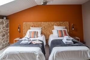 Feuillardier - La Vieille Maison de Pensol - Chambre double
