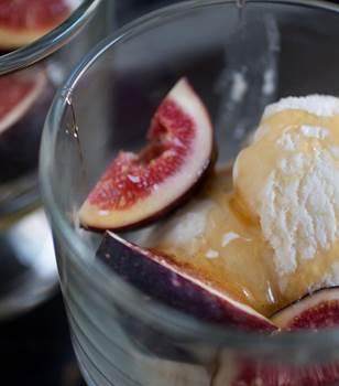 [Recette] Crème glacée figue et miel
