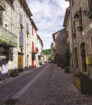 Génolhac, une cité médiévale au pied du Mont Lozère