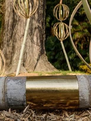 Exposition Art et Nature à la Bambouseraie