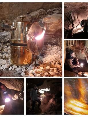 GROTTE FERMEE JUSQU'A NOUVEL ORDRE - Grotte de Trabuc - La double visite - Rallumez la flamme