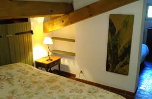 Chambre 3 lits, côté lit double