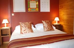 chambre L'R de Rien double lit de 1,80m x 2,00m