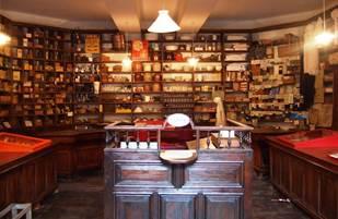 Boutique des Colporteurs de Soueix-Roaglle intérieur