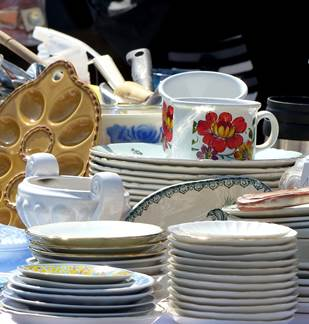 Brocante à Coucy 1