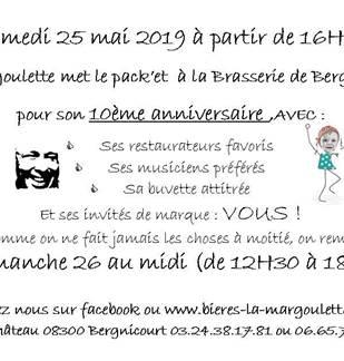 10e anniversaire de la Margoulette