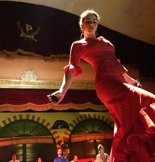 Spectacle de flamenco : Campallerias