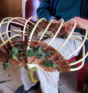 Plantes et Savoirs en Ardennes : stage vannerie