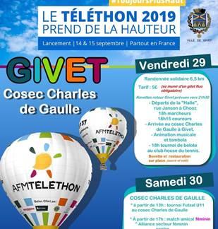 Téléthon 2019 Givet