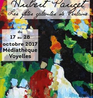Exposition Hubert Pauget : Les fêtes galantes de Verlaine