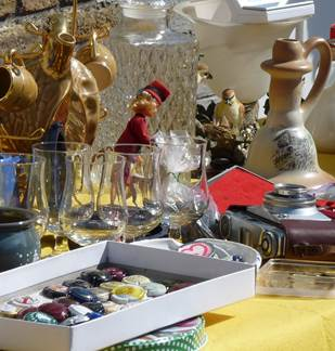 Brocante à Coucy 2