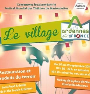 Le village Ardennes de France