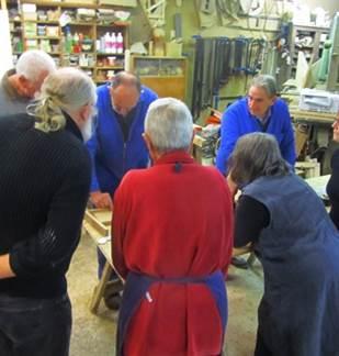Plantes et savoirs en Ardennes : atelier menuiserie