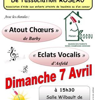 Concert de chorale Atout Choeur