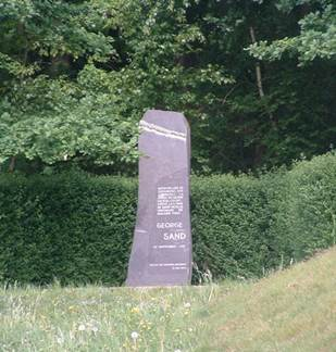 La Stèle George Sand