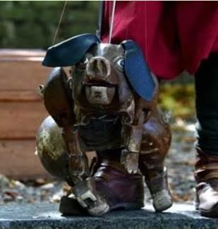 Spectacle de Marionnettes : Le Jugement Dernier du Cochon