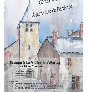 Exposition à la vitrine de Warcq