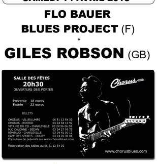 Concert de Blues à Douzy