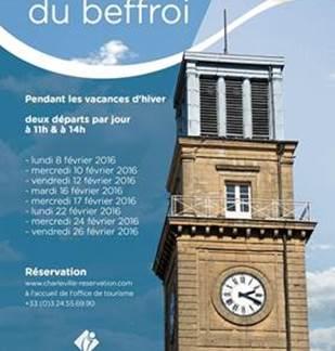Visites guidées du Beffroi 2018