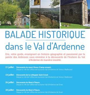 Balade historique dans le val d'Ardenne
