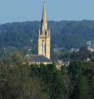 Eglise Saint Martin de Bazeilles