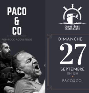 Croisière-Repas avec Paco & Co