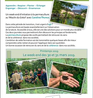Week-end d'initiation à la permaculture