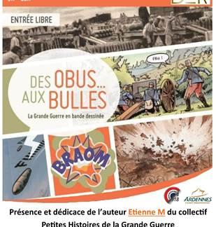 Exposition Des Obus aux bulles