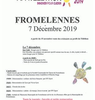 Téléthon 2019 Fromelennes
