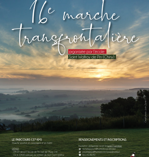16ème marche frontalière Saint Walfroy – Pin