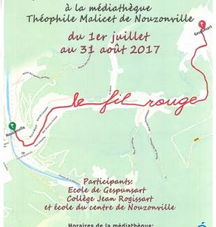 Exposition collective : Le Fil Rouge