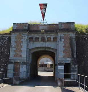 Visite audioguidée de la pointe Est de Charlemont, Citadelle de Givet